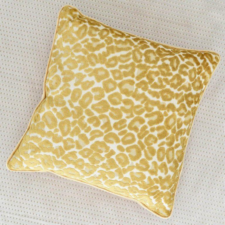 Leona Golden Cushion