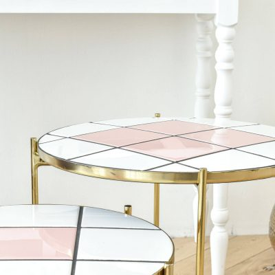 Rosa Antique Bronze Table
