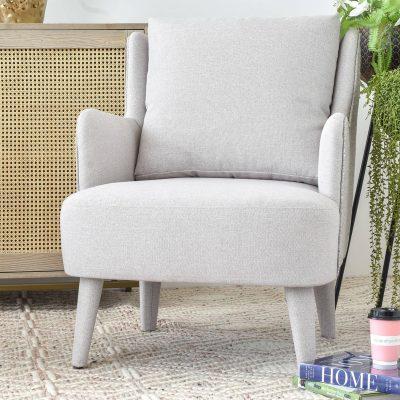 Lily Lightgrey Armchair