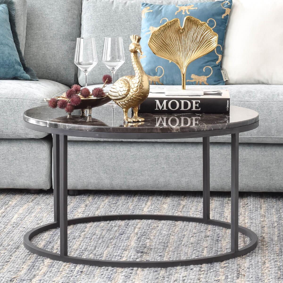 Picture of: Marble Coffee Table Cozy Home Dubai Abu Dhabi Uae