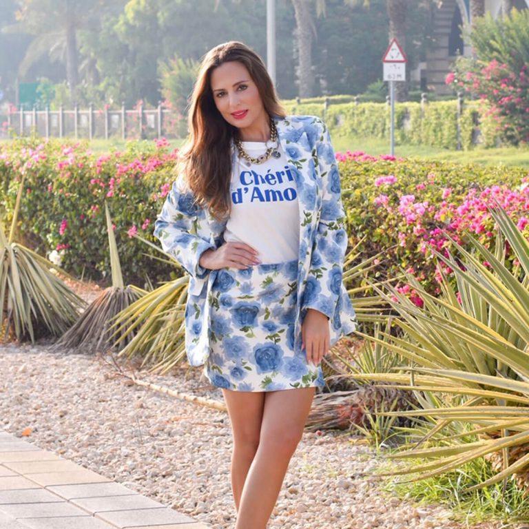 Summer Blue Blazer