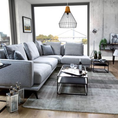 Bilbao sectional sofa with Deep Seating