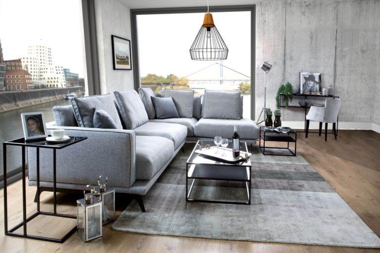Bilbao sectional sofa with Deep Seating