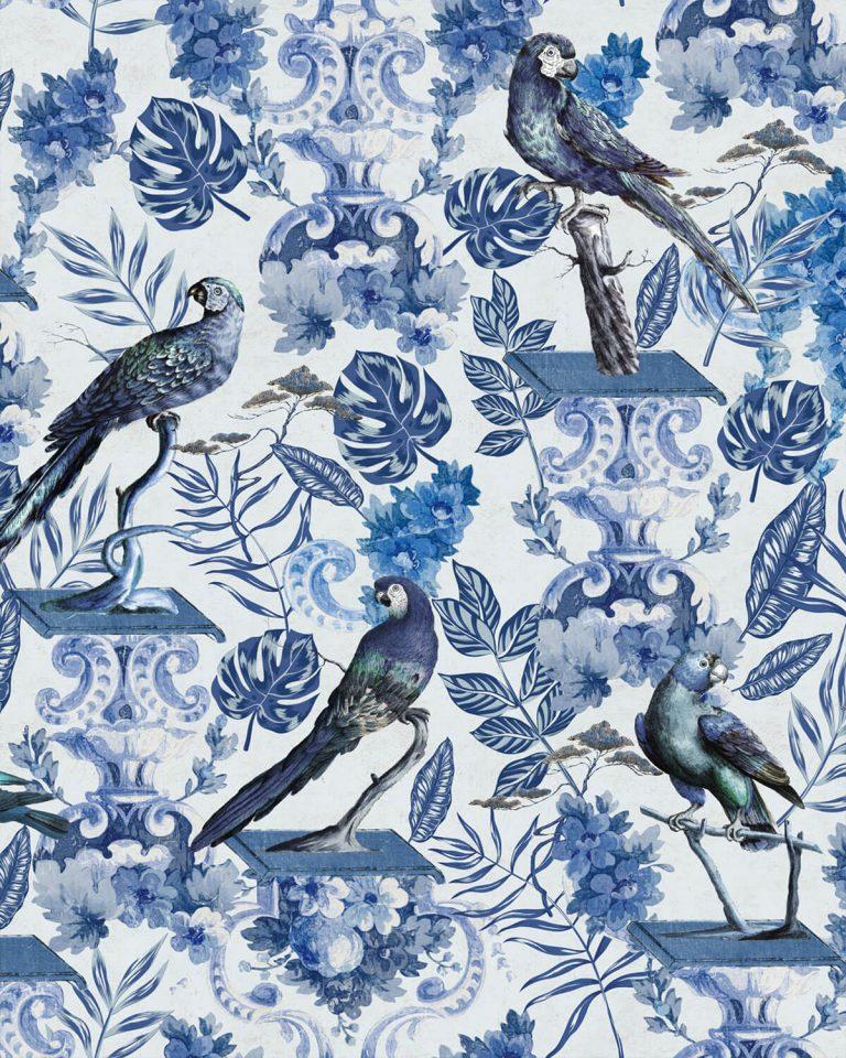 Blue Birds WallPaper