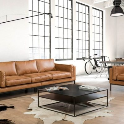 Dutch Sofa in faux Leather