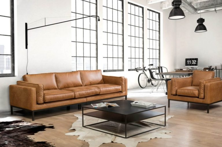 Dutch 3-Seater Sofa in Faux Leather