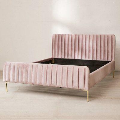 Emma Velvet Bed