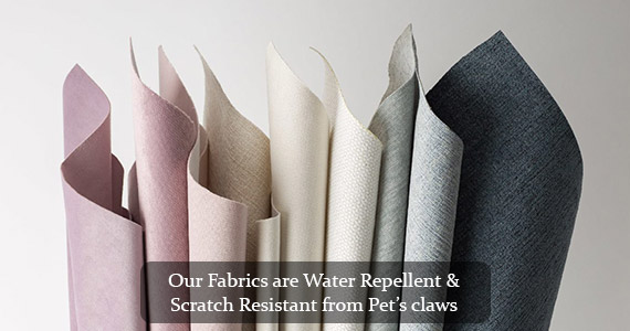 Scratch and Water Repellen Fabrics in Dubai, Abu Dhabi, UAE Cozy Home