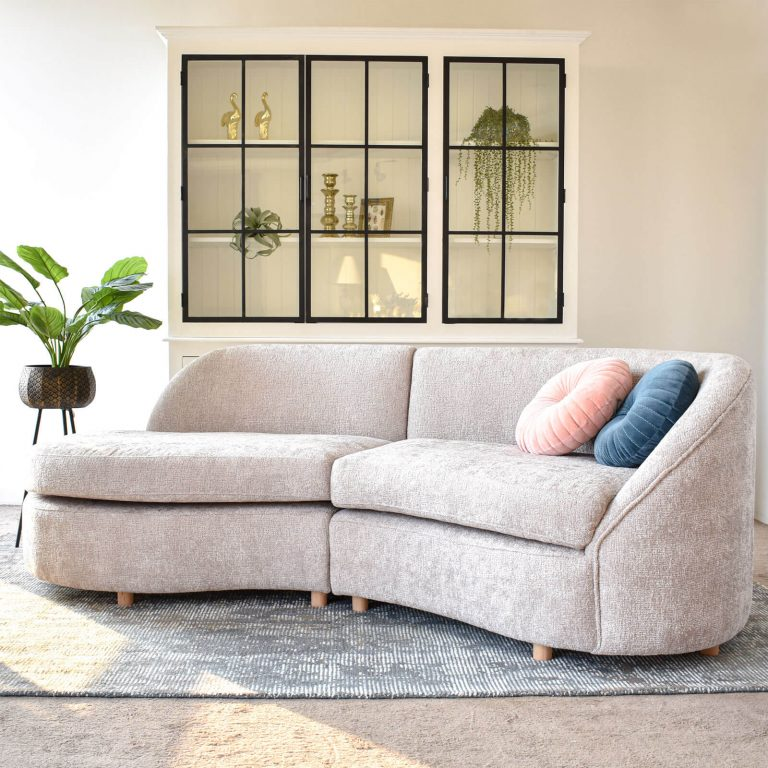 Adam Curved Sectional Sofa