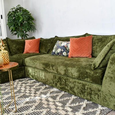 Seattle Family Size Living Room Sofa