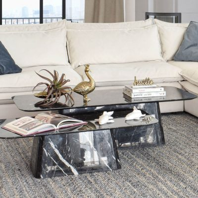 Zegna Set of 2 Marble Coffee Table