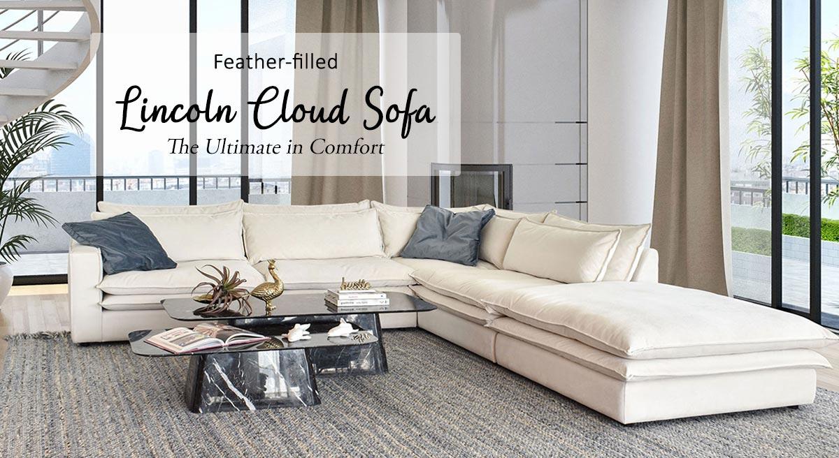 Best Sectional Cloud Sofas in Dubai Abudhabi UAE