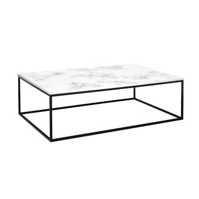 Allison Marble Rectangle Coffee Table