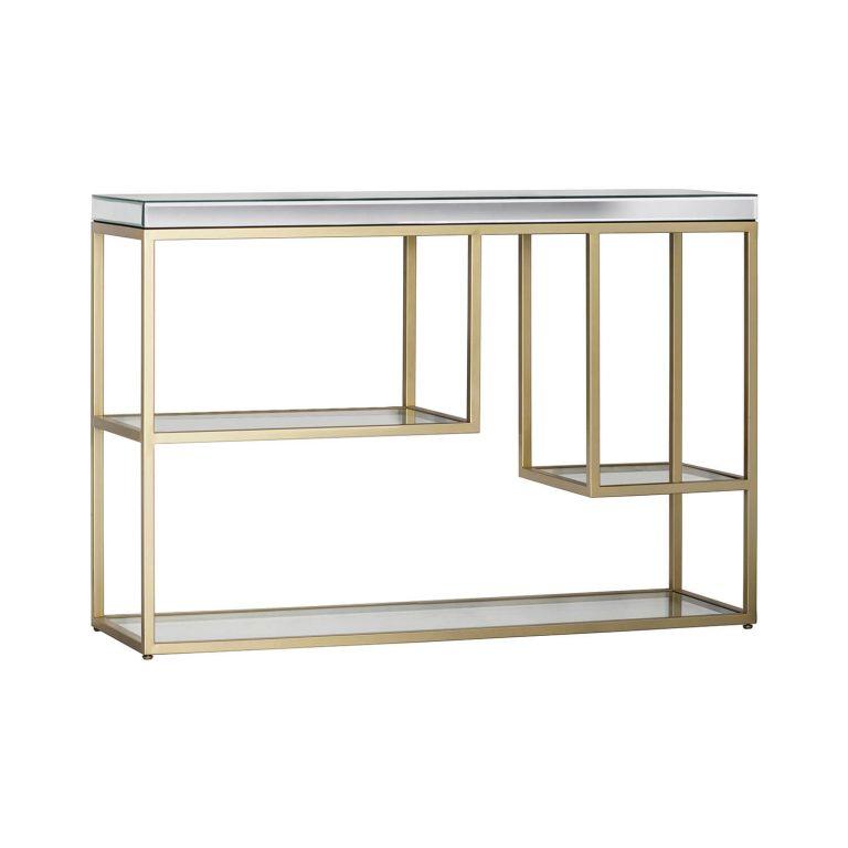Oscar Glass Console Table