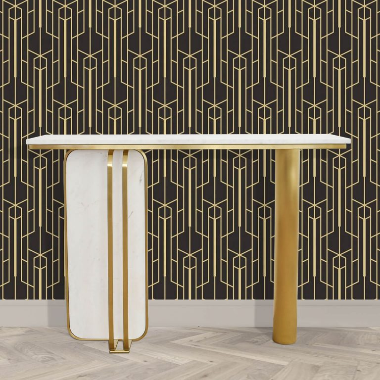 Rosa Marble Console