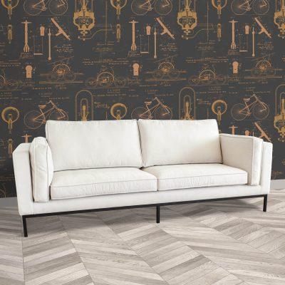 Dutch 3-Seater Sofa
